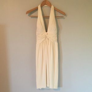 Dresses & Skirts - Off-White Halter Dress from Boutique